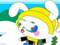 Флеш игра Кролик бомбермен