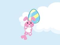 Флеш игра Кролик и яйца 2