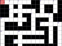 Флеш игра Кроссворд 01