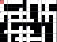 Флеш игра Кроссворд 05
