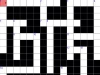 Флеш игра Кроссворд 10