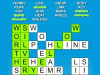 Флеш игра Кроссворд: Найди слово
