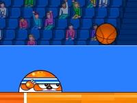 Флеш игра Кроты играют в баскетбол