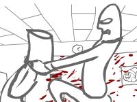 Флеш игра Кровавые разборки с боссом