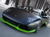 Флеш игра Крутая черно-зеленая машина: Пазл