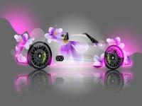Флеш игра Крутая машина для девочек: Пазл