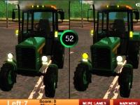 Флеш игра Крутые тракторы: Найди 7 отличий