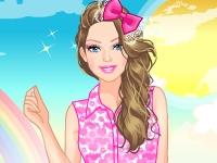 Флеш игра Кружевные наряды Барби