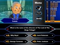 Флеш игра Кто хочет стать миллионером: Властелин колец