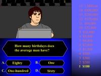 Флеш игра Кто хочет стать миллионером: Выпуск с монстрами