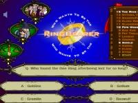 Флеш игра Кто хочет стать владельцем кольца всевластия?