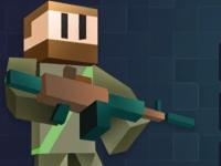 Флеш игра Кубический спецназ