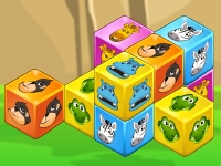 Флеш игра Кубики с животными