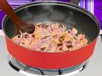 Флеш игра Кухня Сары: Грибной суп