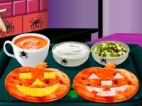 Флеш игра Кухня Сары: Кейсадиас на Хэллоуин