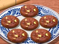 Флеш игра Кухня Сары: Шоколадное печенье
