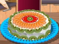 Флеш игра Кухня Сары: Торт