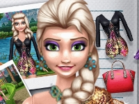 Флеш игра Кукла Эльза