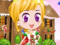 Флеш игра Куколка из Конфетных Земель