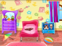 Флеш игра Кукольная комната: Поиск отличий