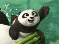 Флеш игра Кунг фу Панда 3: Поиск букв