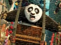 Флеш игра Кунг фу Панда: пазл