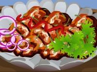 Флеш игра Куриное барбекю с соусом