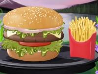 Флеш игра Куриный гамбургер