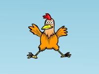 Флеш игра Куриный прыжок