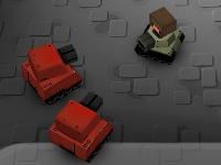 Флеш игра Квадратные танки: Арена
