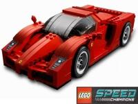 Флеш игра LEGO Феррари: Пазл