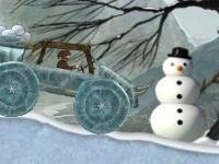 Флеш игра Ледниковая гонка