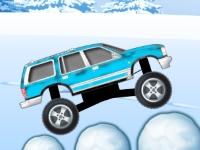 Флеш игра Ледяная гонка на грузовике