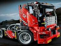 Флеш игра Лего грузовик: Пазл