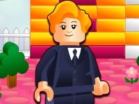 Флеш игра Лего строитель: Домик с садом