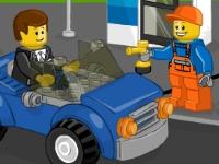 Флеш игра Лего заправка