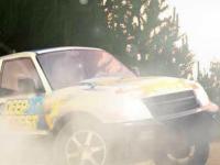 Флеш игра Лесная гонка 3D