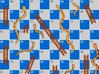 Флеш игра Лестницы и змеи