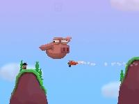 Флеш игра Летающая гигантская свинья