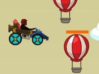 Флеш игра Летающие автомобили