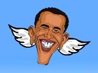 Флеш игра Летающий Обама