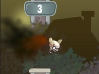 Флеш игра Летающий череп