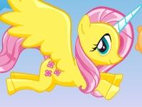 Флеш игра Летающий пони