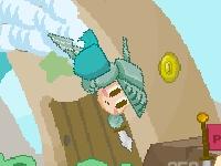 Флеш игра Летающий рыцарь