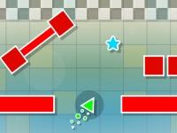 Флеш игра Летающий треугольник