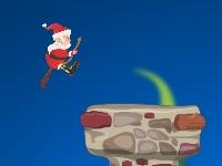 Флеш игра Лети, Санта, Лети!