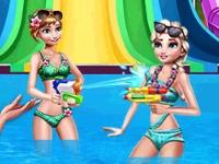 Флеш игра Летние развлечения принцесс