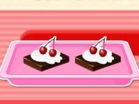 Флеш игра Летний десерт: Мороженое-пирожное