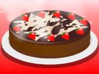 Флеш игра Летний клубничный торт