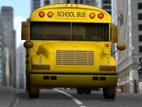 Флеш игра Лицензия на вождение школьного автобуса 3